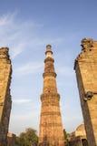 Torre di Qutub Minar Fotografie Stock Libere da Diritti
