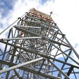 Torre di radiodiffusione Fotografia Stock Libera da Diritti