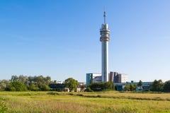 Torre di radiodiffusione di KPN a Haarlem, Paesi Bassi Immagini Stock Libere da Diritti