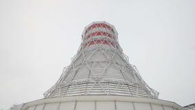 Torre di raffreddamento in carcassa ed in ingegneri su priorità alta archivi video