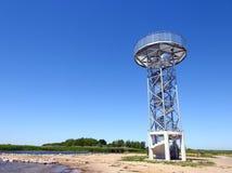 Torre di rassegne in Dreverna, Lituania Fotografia Stock