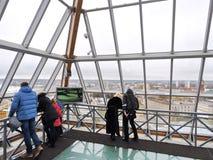 Torre di rassegne nella città di Jelgava, Lettonia Fotografie Stock Libere da Diritti