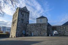 Torre di Rosenkrantz a Bergen, Norvegia Immagine Stock