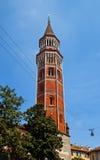 Torre di Royal Palace (circa XVIII il C.). Milano, Italia Immagini Stock Libere da Diritti