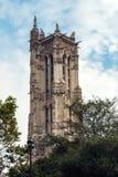Torre di Saint-Jacques a Parigi Fotografia Stock Libera da Diritti