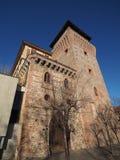 Torre di Settimo in Settimo Torinese immagini stock libere da diritti