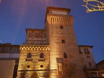 Torre di Settimo in Settimo Torinese fotografia stock libera da diritti
