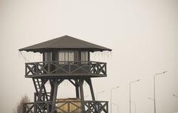 Torre di sicurezza di rassegna Immagini Stock