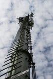 torre di sostegno dell'antenna immagine stock