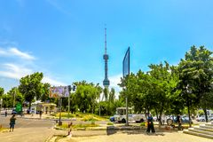Torre di Taškent TV immagini stock