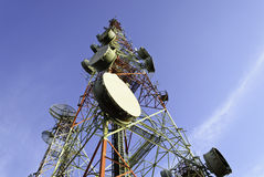 Torre di telecomunicazione Immagine Stock Libera da Diritti