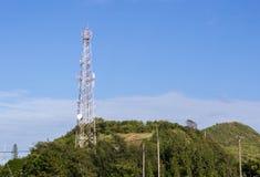 Torre di telecomunicazione Immagini Stock Libere da Diritti