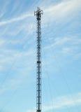 Torre di telecomunicazioni Fotografia Stock Libera da Diritti