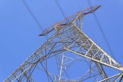 Torre di tensione di altezza Fotografia Stock