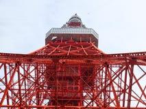 Torre di Tokyo dal fondo Fotografia Stock