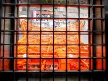 Torre di Tokyo nella gabbia più piccola Fotografie Stock