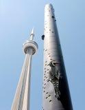 Torre di Toronto e picchio 2009 Fotografia Stock