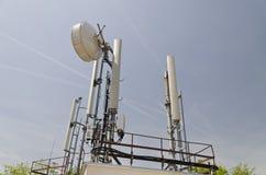 Torre di un'antenna Fotografie Stock