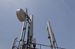 Torre di un'antenna Fotografia Stock