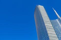 Torre di Unicredit a Milano Immagine Stock