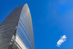 Torre di Unicredit a Milano Fotografia Stock Libera da Diritti