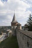 Torre di vecchia fortezza Immagini Stock