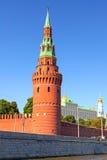 Torre di Vodovzvodnaya di Cremlino Fotografia Stock