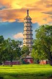 Torre di Yongyoushi, Chengde, Cina Immagini Stock