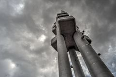 Torre di Zizkov Immagine Stock