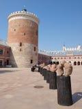 Torre difensiva, Lublino, Polonia Fotografia Stock Libera da Diritti