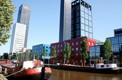 Torre do achmea de Leeuwarden Fotos de Stock Royalty Free