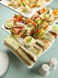 Torre do alimento de dedo Fotos de Stock