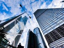 Torre do Banco da China fotos de stock royalty free
