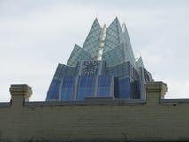 Torre do banco de Frost Fotos de Stock Royalty Free