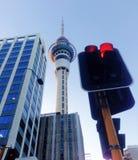 Torre do céu de Auckland foto de stock royalty free