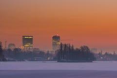 Torre do céu de Bucareste Foto de Stock Royalty Free