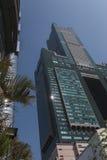 A torre do céu de Tuntex 85 em Koashiung, Taiwan Fotos de Stock