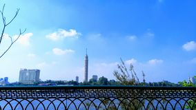 Torre do Cairo foto de stock royalty free