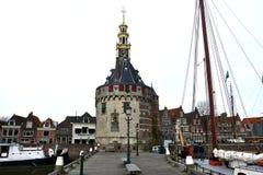 Torre do cano principal de Hoorn Imagens de Stock