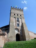 Torre do castelo Foto de Stock Royalty Free