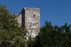 Torre do castelo de Bodrum Fotografia de Stock Royalty Free
