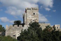 Torre do castelo de Bodrum Fotografia de Stock