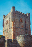 Torre do castelo de Braganza Imagem de Stock Royalty Free