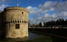 Torre do castelo em Europa Imagens de Stock
