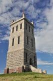 Torre do castelo em Tonsberg, Vestfold, Noruega fotografia de stock