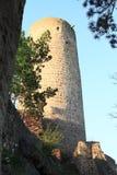 Torre do castelo Zebrak Foto de Stock