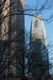 Torre do casulo de Gakuen do modo no Tóquio fotos de stock