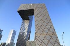 Torre do CCTV de CBD-Beijing Imagem de Stock