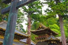 Torre do cilindro do santuário de Toshogu imagem de stock royalty free