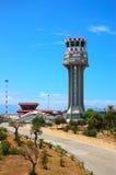 Torre do controlador aéreo imagem de stock royalty free